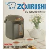 Zojirushi 2 2L Micom Electric Dispensing Pot Cd Wbq22 Lower Price