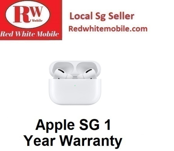 Apple Airpods Pro-Apple SG 1 Year Warranty Singapore