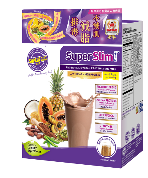 Buy SuperSlim Protein Travel Sachets 10x20g Singapore