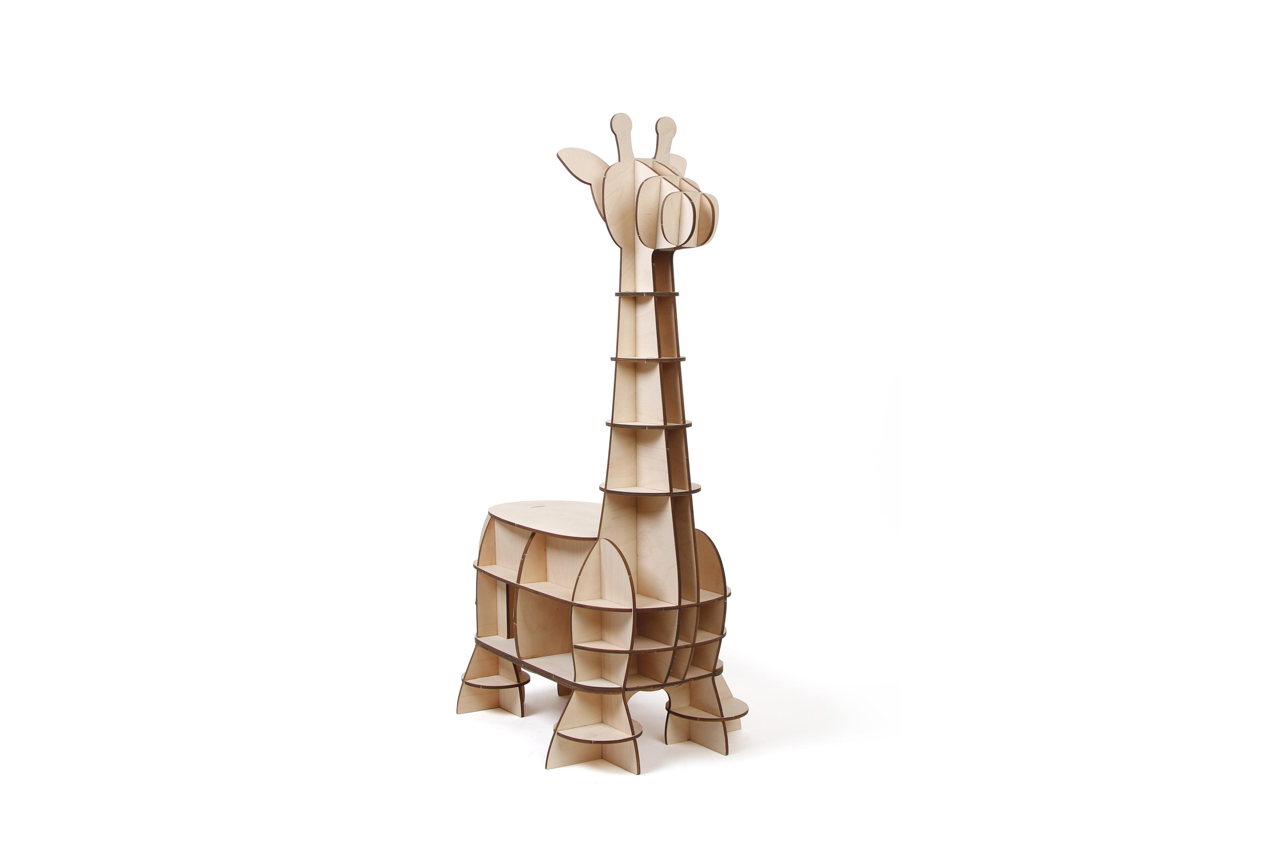 Jigzle Plywood Home- Baby Giraffe Chair