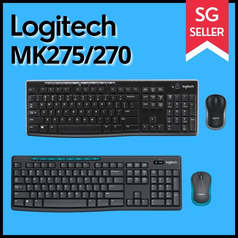 Logitech MK275/MK270 Wireless Keyboard and Mouse Combo Singapore