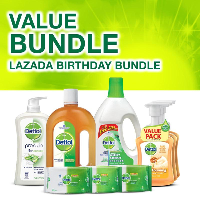 Buy Dettol Lazada Birthday Bundle Singapore