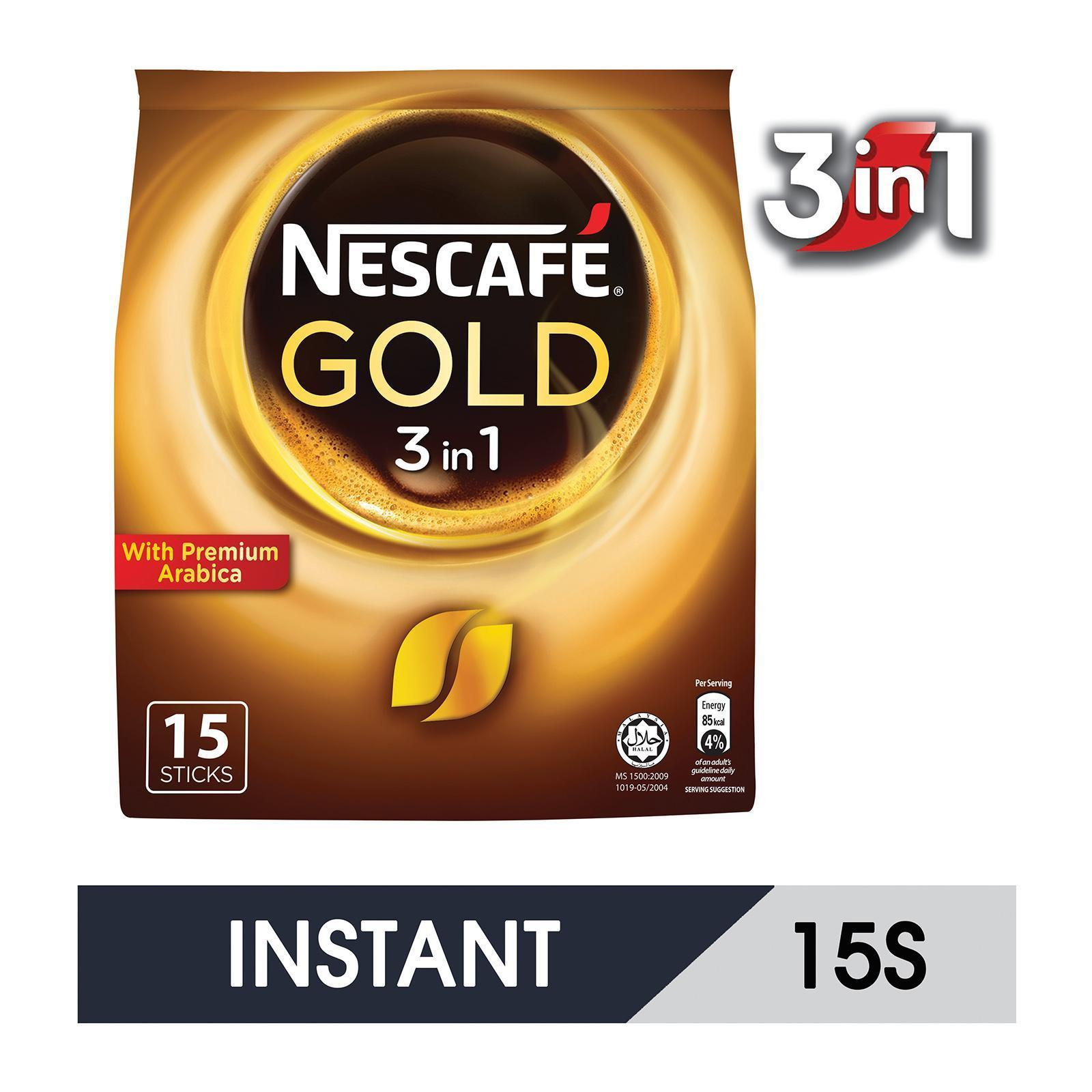 NESCAFE Gold BLEND 3in1 15S Instant Coffee
