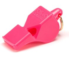 Best Price Fox 40 Classic Whistle With Coil Pink