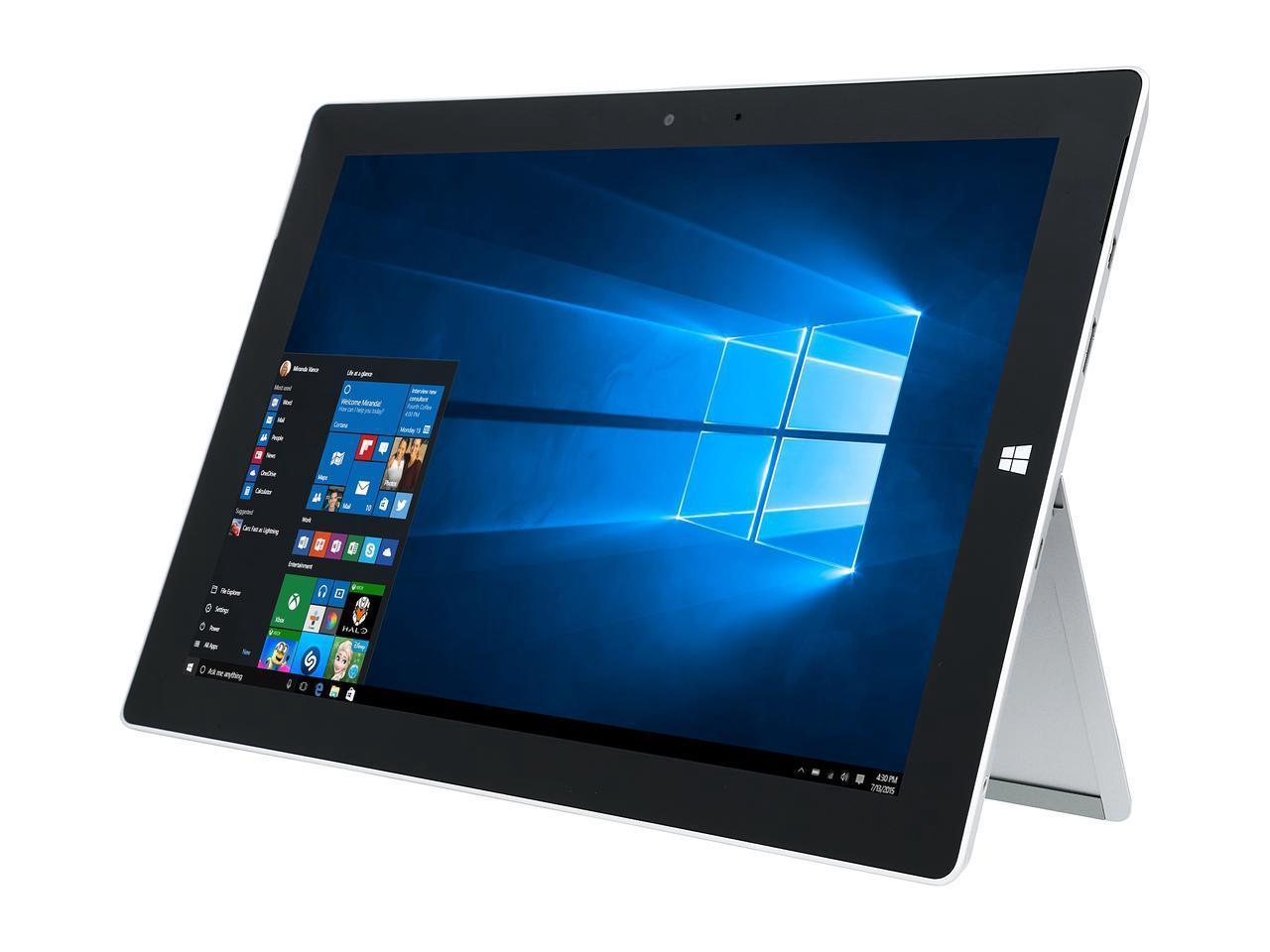 Microsoft Surface 3 Two in one Tablet /Laptop office /business 10 8in  Touchscreen 4 GB Memory 128 GB SSD WiFi + 4G LTE Tablet Bundle GL4-00009  (Tablet