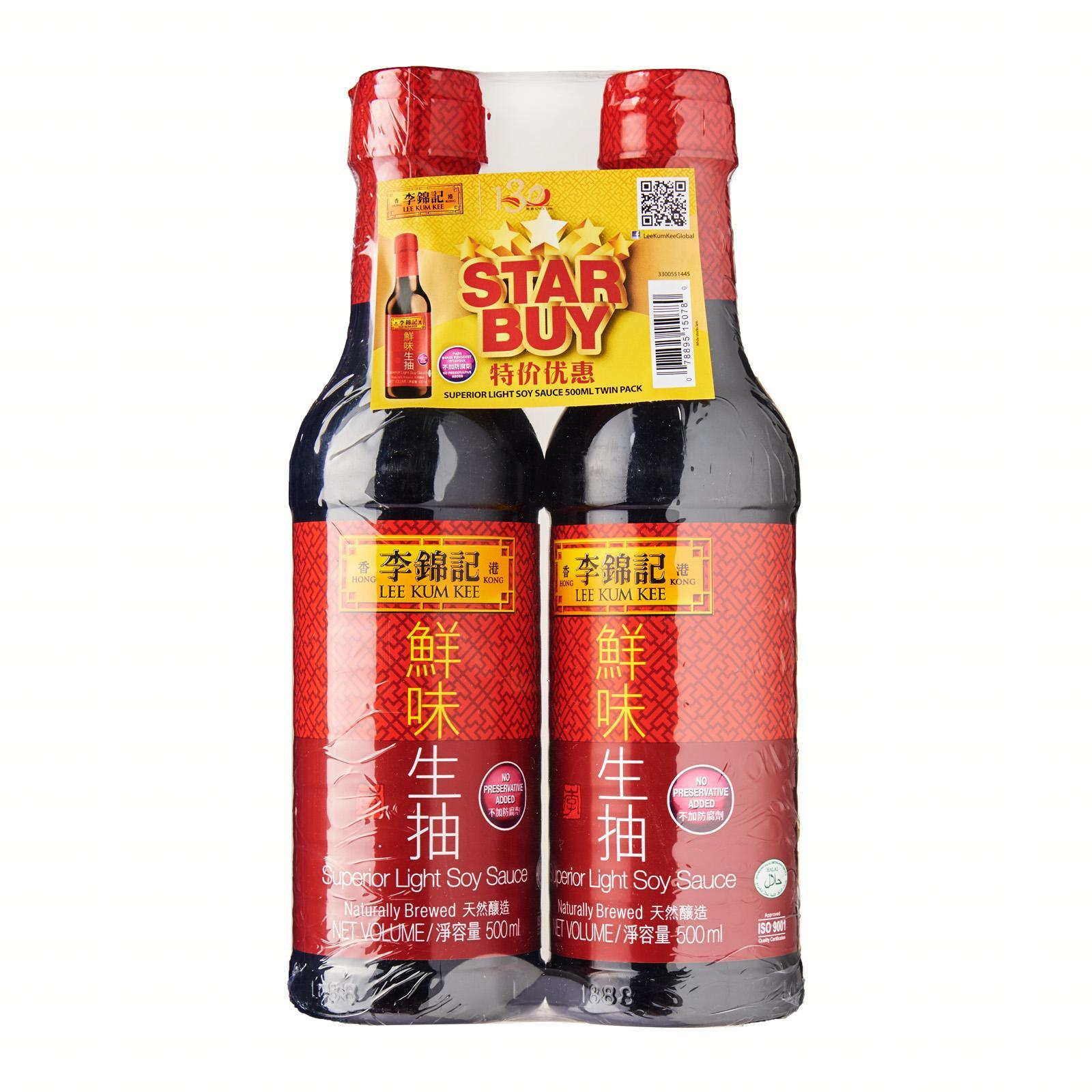 Lee Kum Kee Superior Light Soy Sauce Twin Pack