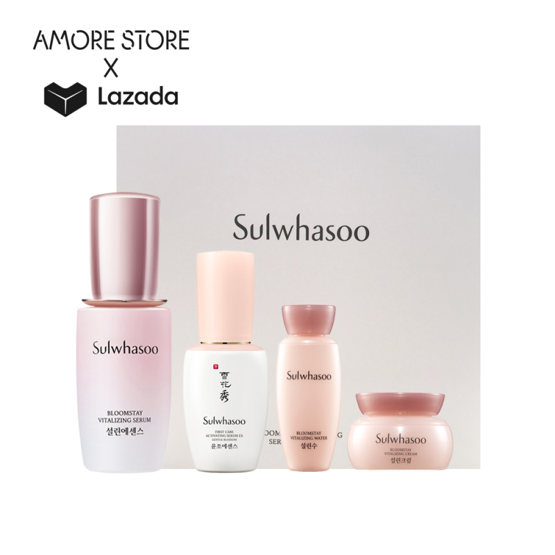 Buy [Amore Exclusive] Sulwhasoo Bloomstay Vitalizing Serum Trial Set Singapore