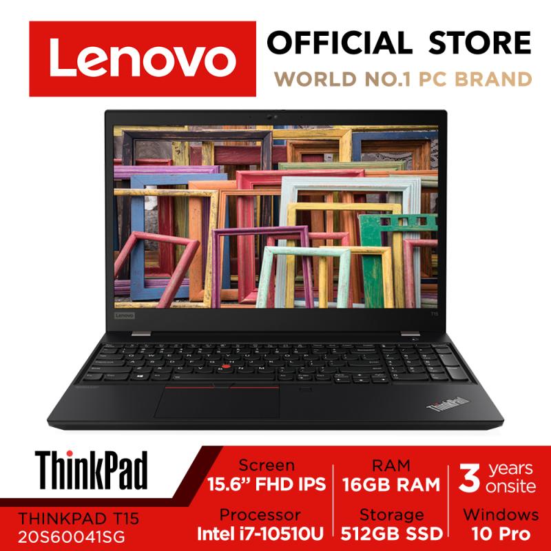 【Same Day Delivery】ThinkPad T15 | 20S60041SG | 15.6inch FHD IPS | i7-10510U | 16GB RAM | 512GB SSD | Win10 Pro | 3Yrs Warranty