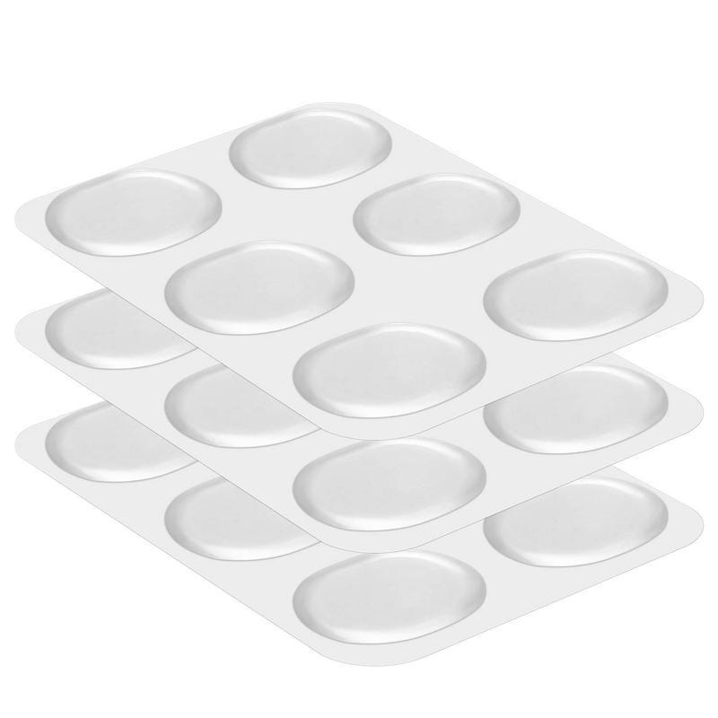 18 Pieces Drum Damper Gel Pads Silicone Drums Silencer For Drums Tone Control-Clear Malaysia
