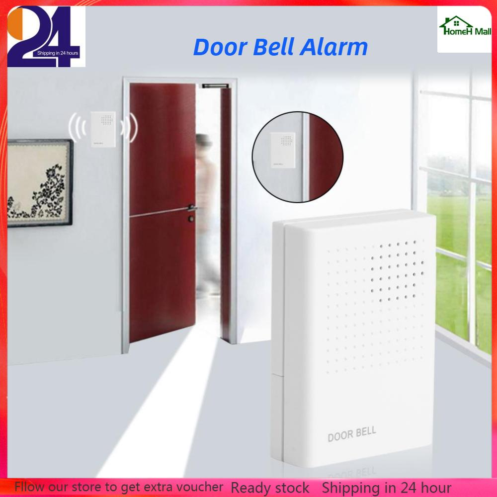 Homeh Mall Welcome Guest Wired Doorbell Door Bell Alarm For Home Office Access Control System.
