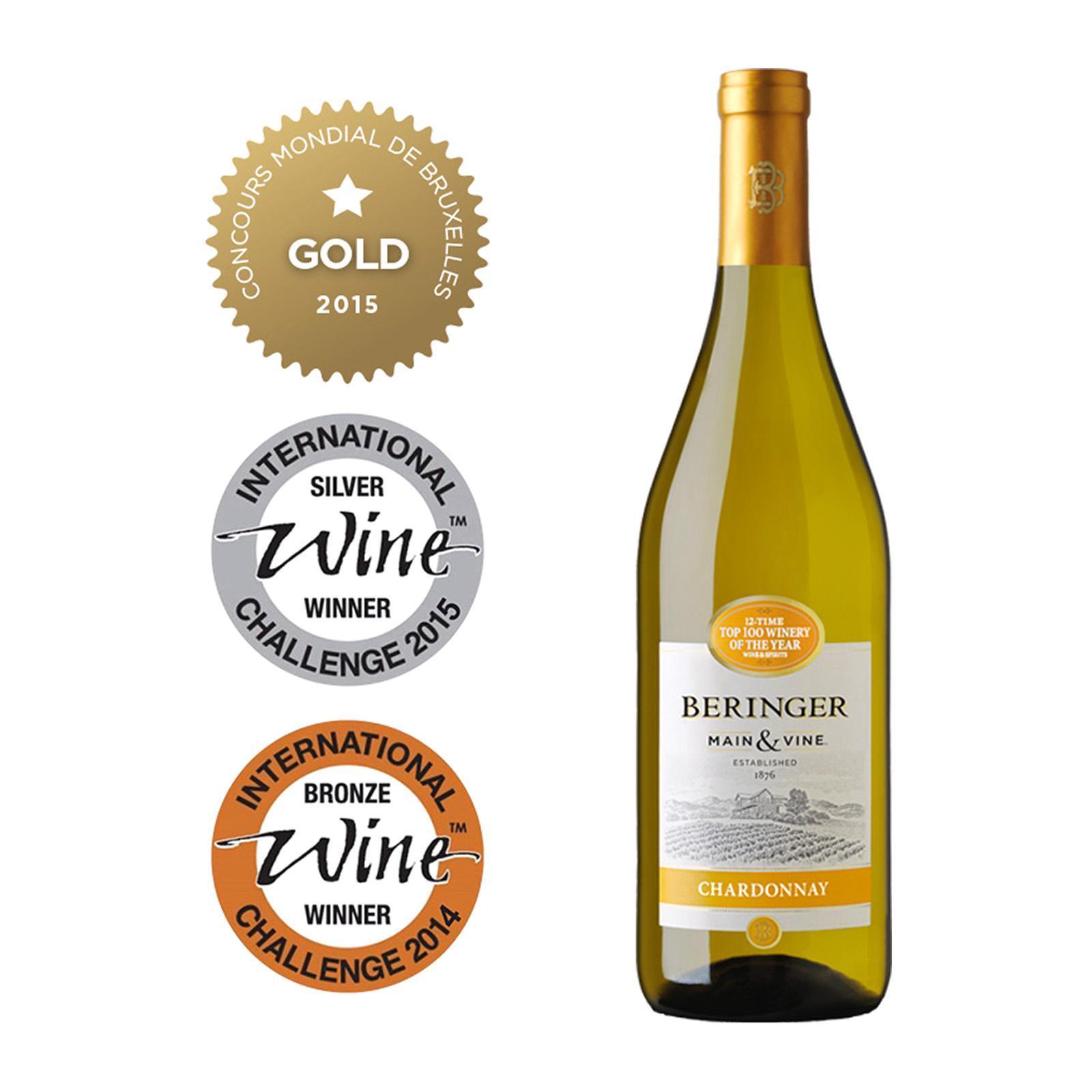 Beringer Main And Vine Chardonnay Peach Flavour