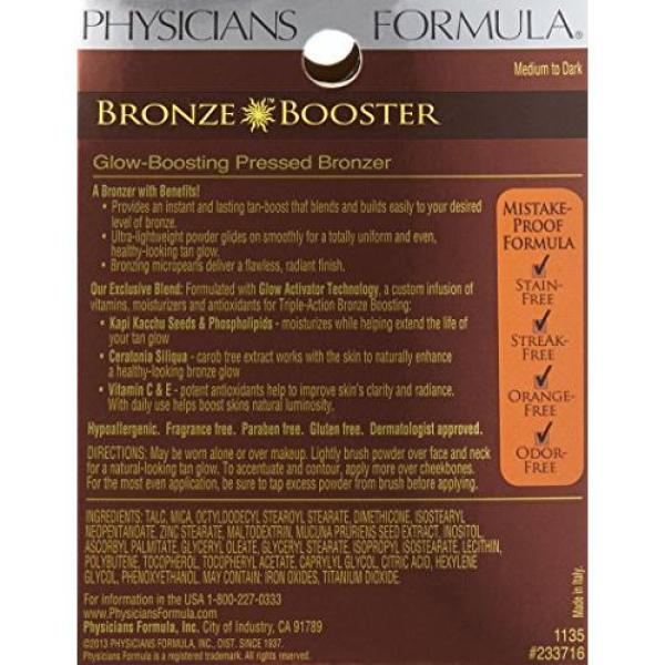 Buy Physicians Formula Bronze Booster Glow Boosting Pressed Bronzer, Medium to Dark Singapore