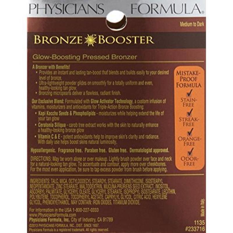 Buy Physicians Formula Bronze Booster Glow Boosting Pressed Bronzer, Medium to Dark Singapore