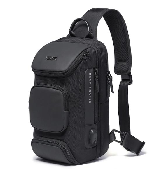★SG LOCAL STOCK★Bange New Men Multifunction Crossbody Bag Shoulder Messenger Bags Male Waterproof Short Trip Travel Chest Bag
