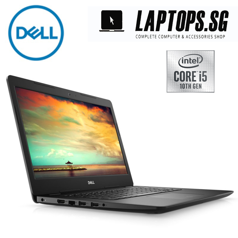 NEW Dell insprion 3493-intel core i5 - 1035g4 1.1GHZ  / 4GB DDR4 RAM / 128GB SSD / 14.0 INCH HD SCREEN / WINDOWS 10 HOME / 1YEAR WARRANTY