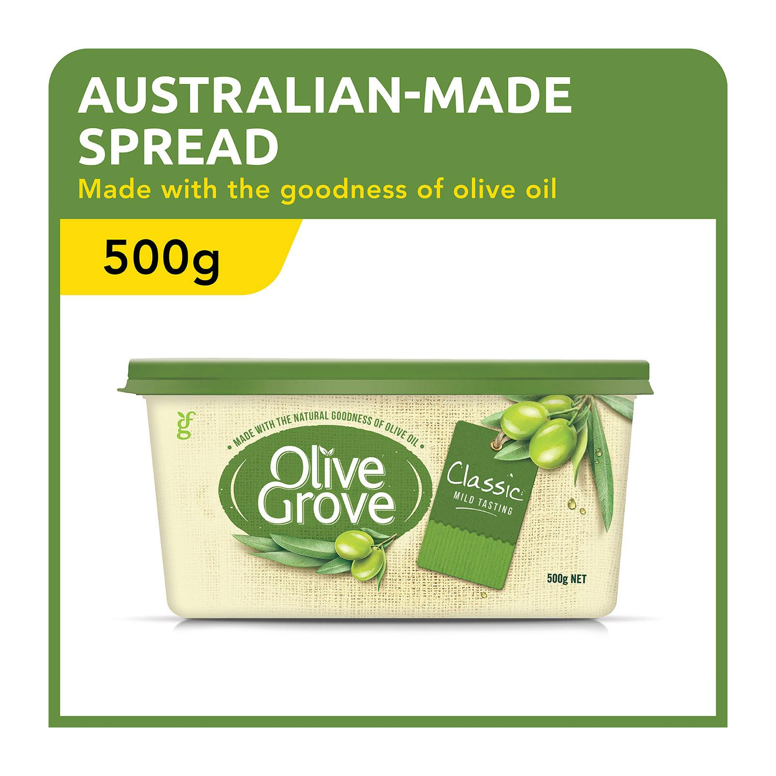 OLIVE GROVE Classic Olive Spread 500g