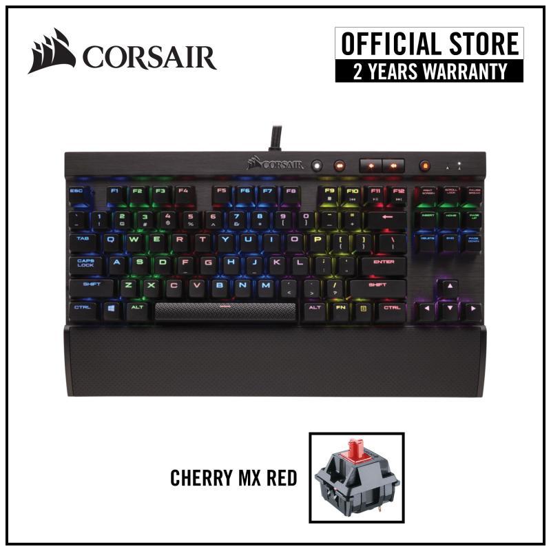 CORSAIR Gaming K65 RGB LUX Mechanical Gaming Keyboard - Cherry MX Red RGB Singapore