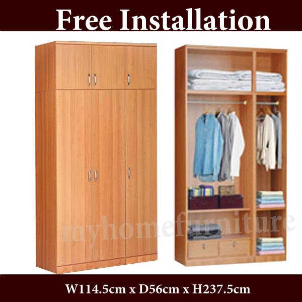Myre 4ft 6 Doors Open Wardrobe (Free Delivery and Installation)
