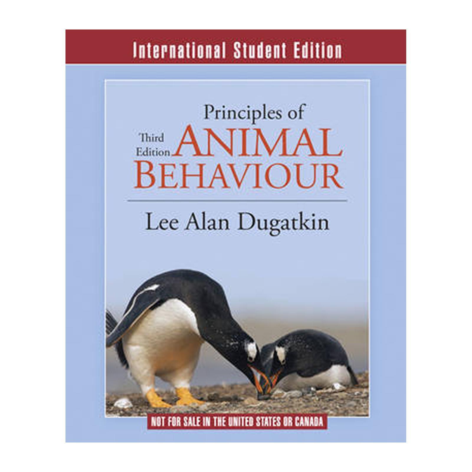Principles Of Animal Behavior (Paperback)