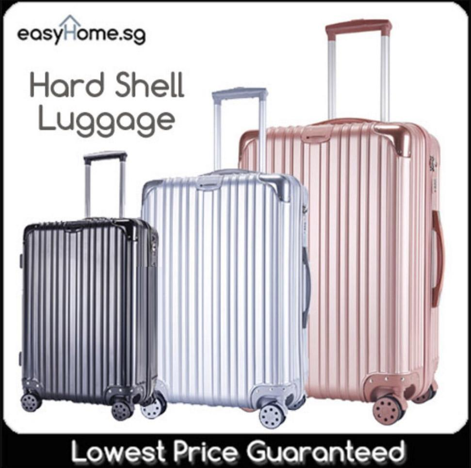 Classic Luggage / Hard Shell Travel Bag Spinner Abs Pc Case Trolley By Easyhome.sg.