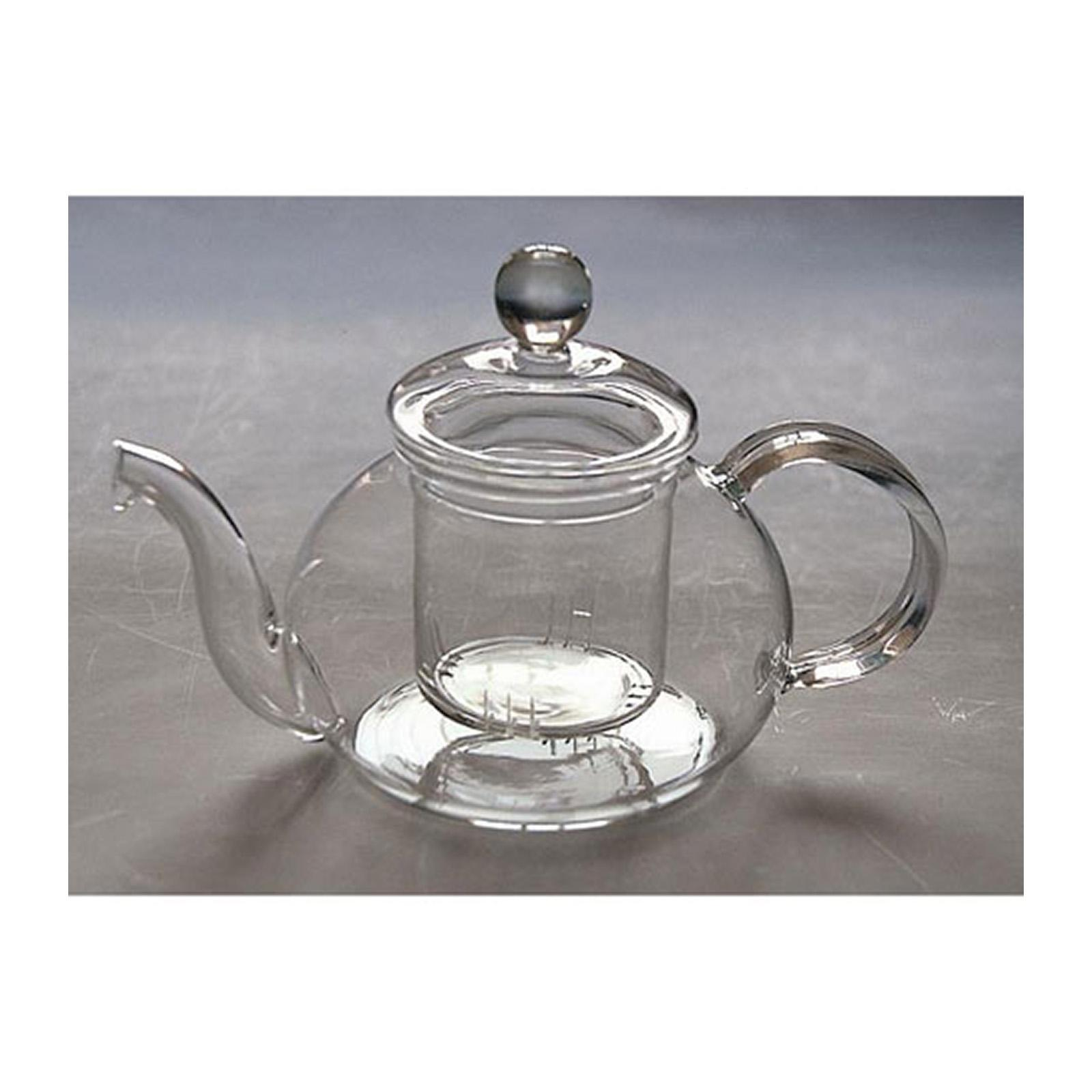 ToTT Glass Tea Pot With Strainer And Lid - By ToTT