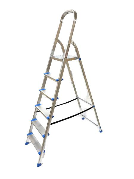 Winsir Aluminium Household 6 Steps Ladder