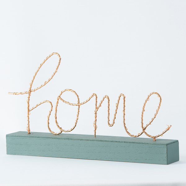 HOOGA Home With Lights Decorative Piece