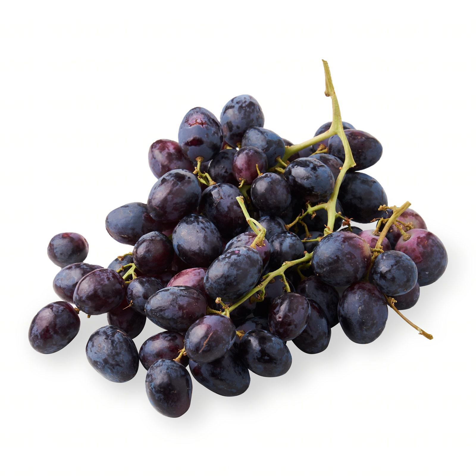 Grapes Black Seedless (air Flown) By Redmart.