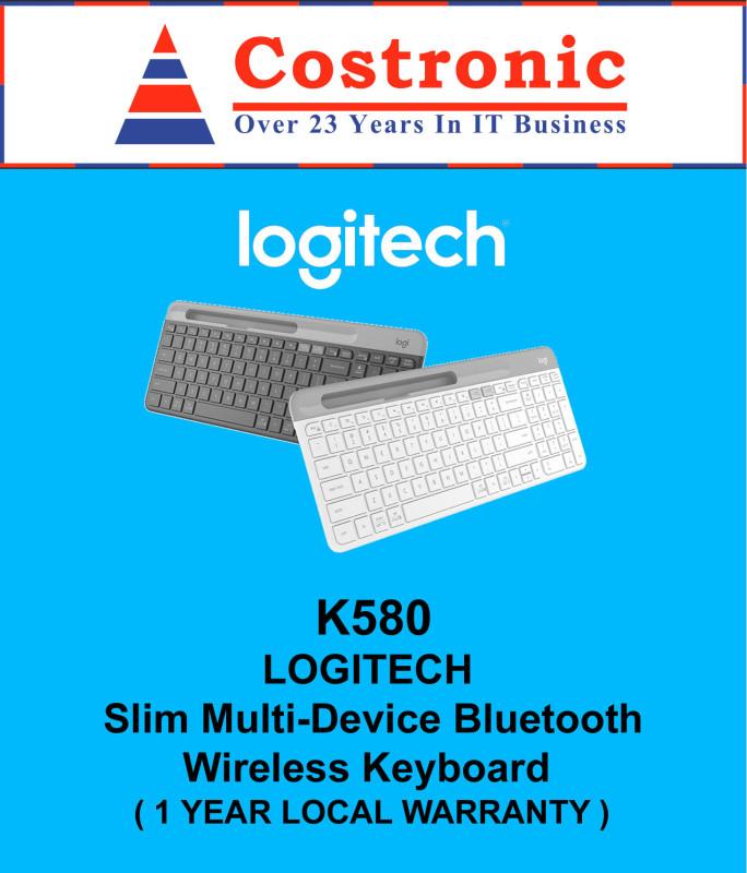 Logitech K580 Slim Multi-Device Bluetooth Wireless Silent Keyboard Singapore