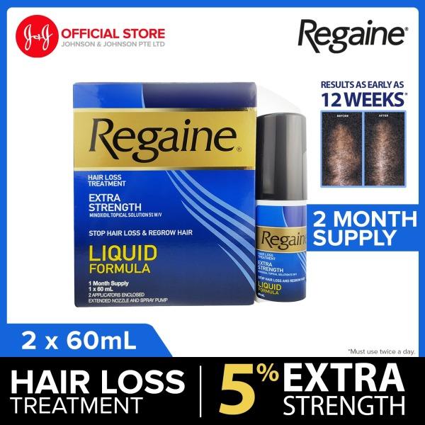 Buy [Twinpack] REGAINE Anti Hair Thinning Extra Strength 5% Solution 60ml x2 Singapore