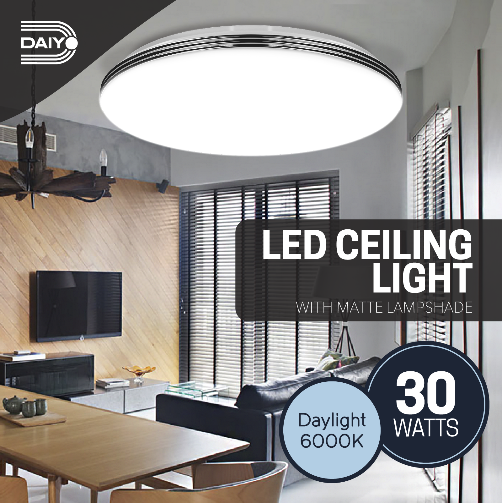 Daiyo LED Ceiling Light LCL162 DL