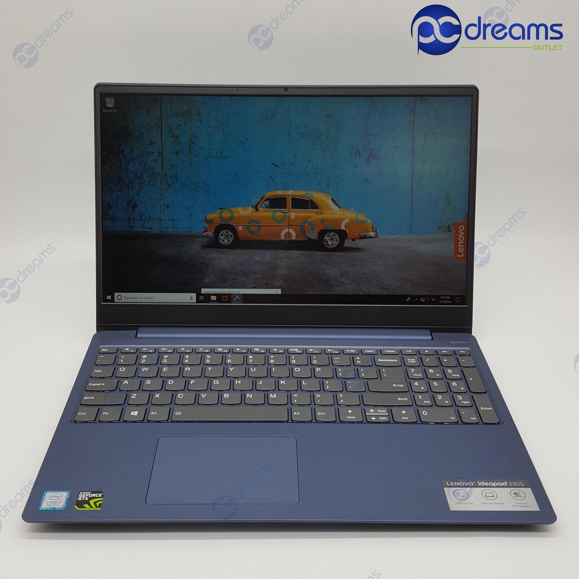 LENOVO IDEAPAD 330S-15IKB (81GC007YSB) i7-8550U/8GB/512GB PCIe SSD/GTX1050 [Premium Refreshed]