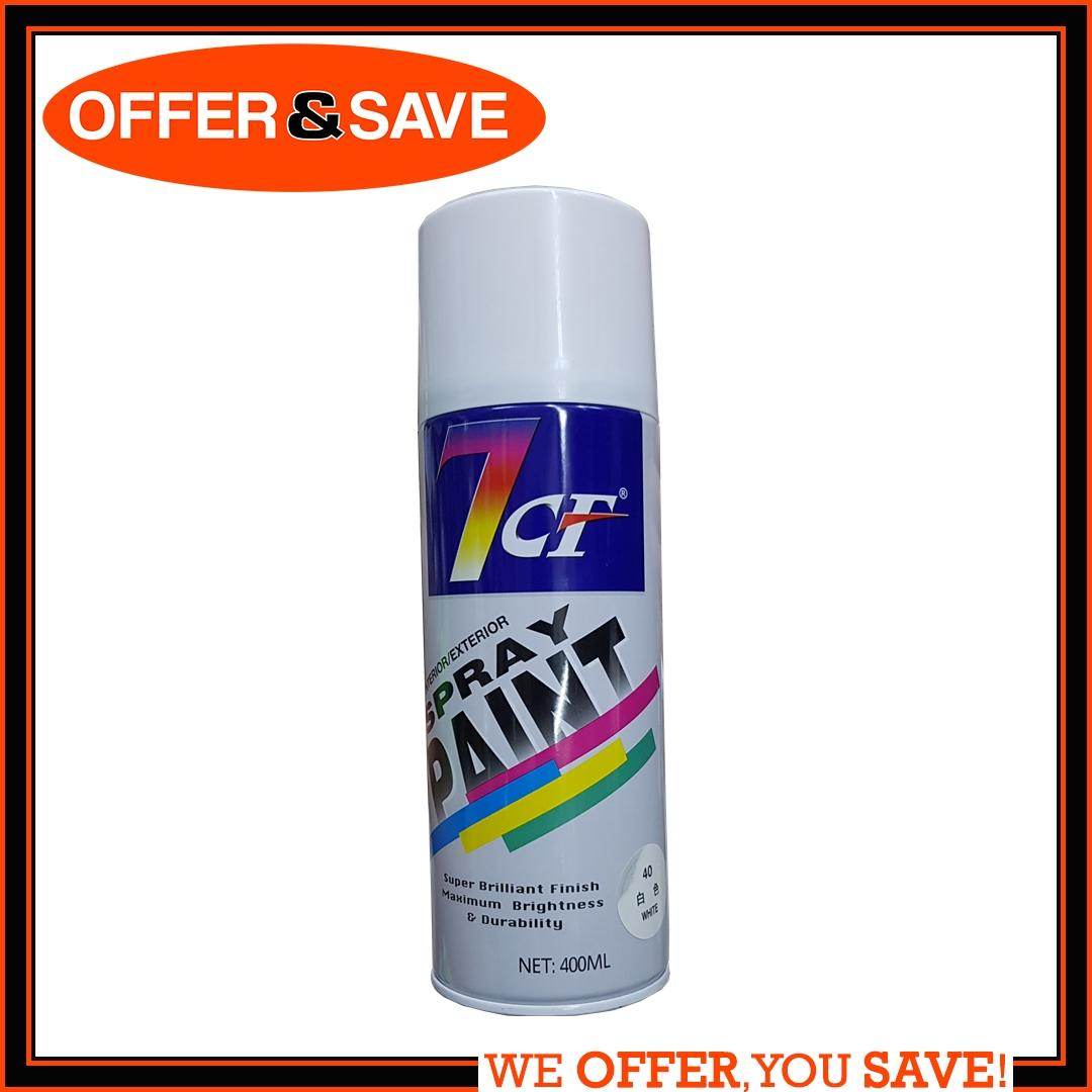 7 CF Spray Paint - 40 White