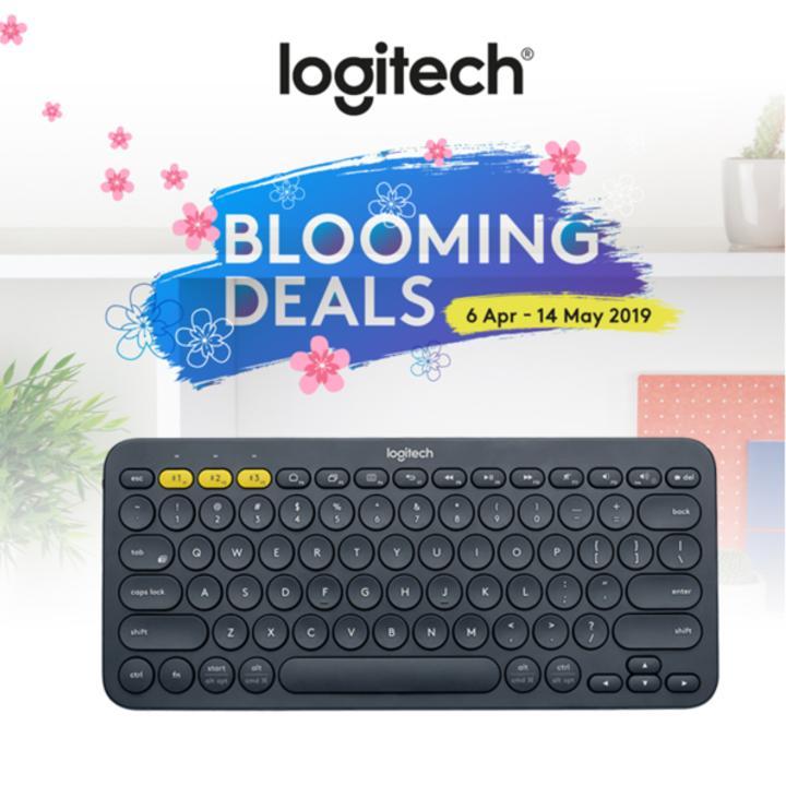 84cd081e8e4 Logitech K380 Black Slim Multi-Device Bluetooth Keyboard (ios, Android, Osx,