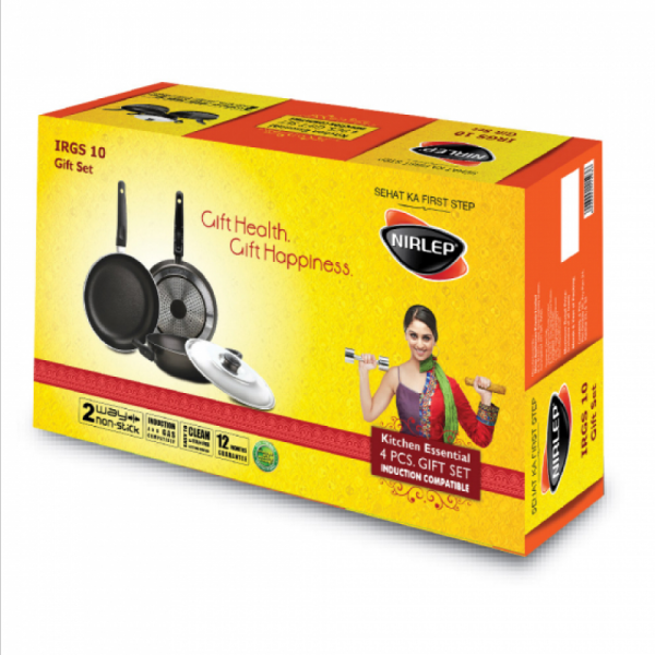 Nirlep IRGS10 Kitchen Essential cookware Gift Set Singapore