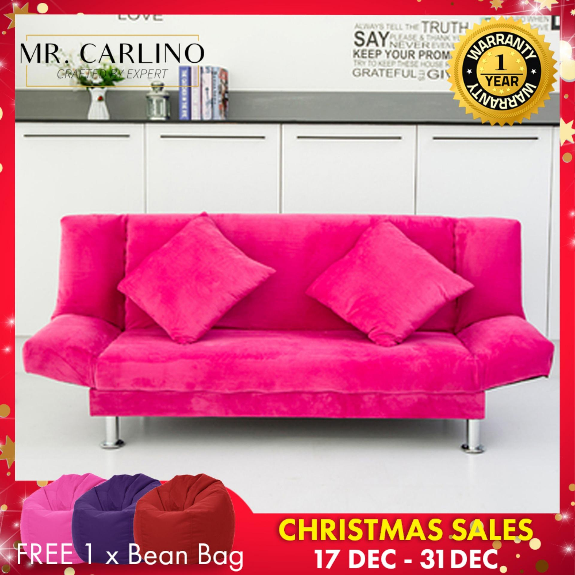 Bradley 3 Seater Foldable Sofa Bed with 1 YEAR WARRANTY