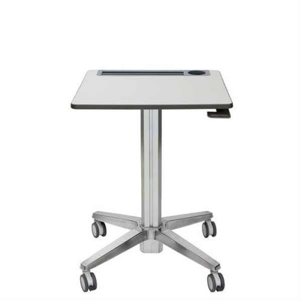 Ergonomic Adjustable-Height Sit-Stand Mobile Student Desk