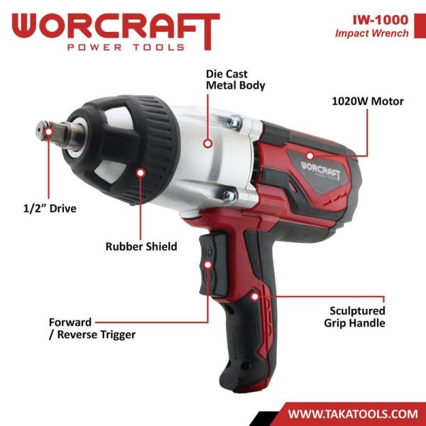 Worcraft Electric Impact Wrench