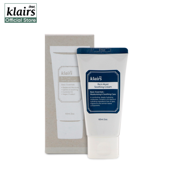 Buy Klairs Rich Moist Soothing Cream Singapore