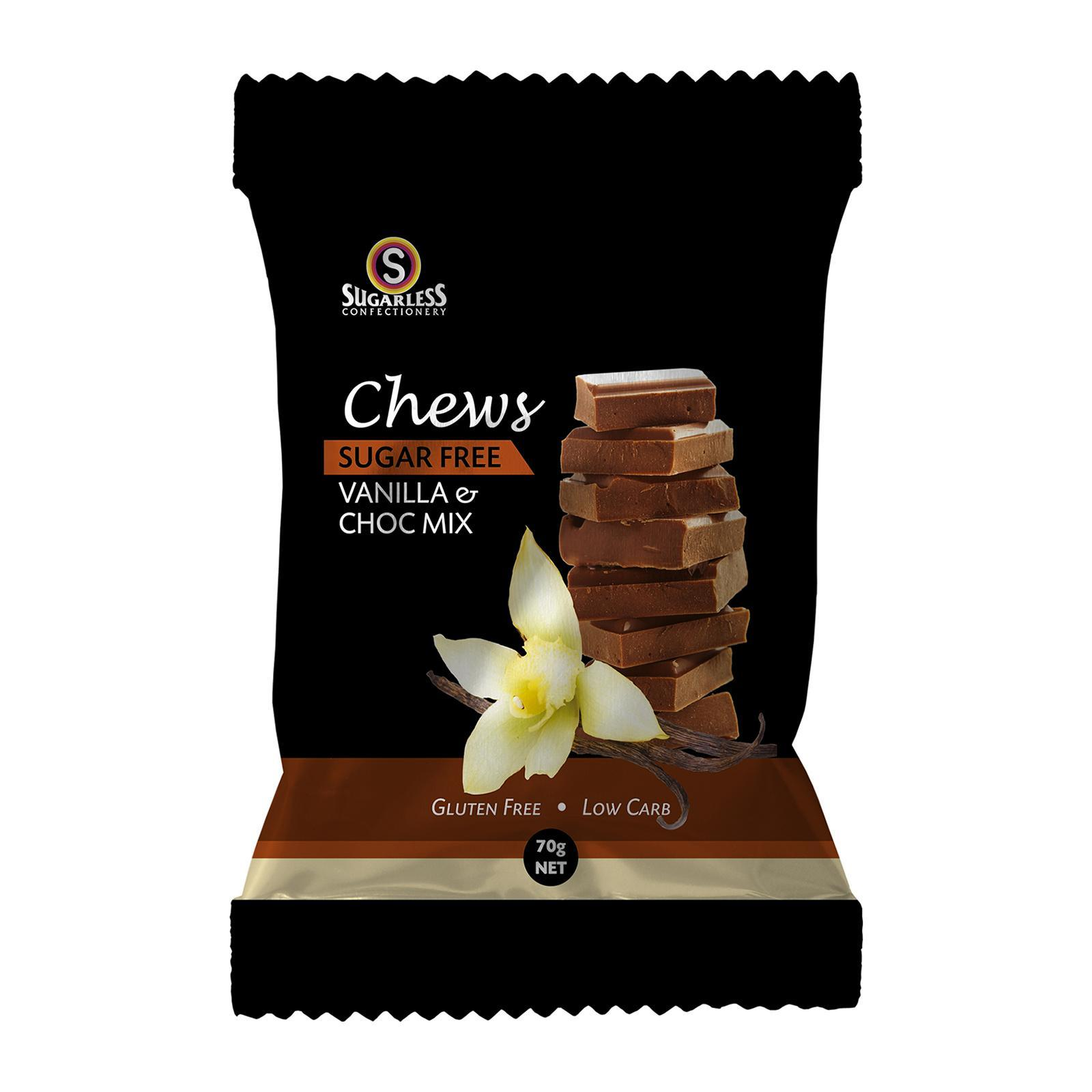 Sugarless Vanilla And Chocolate Chews