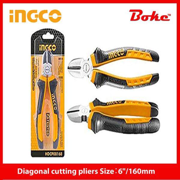 INGCO I-HDCP08168 Diagonal cutting pliers Size:6/160mm