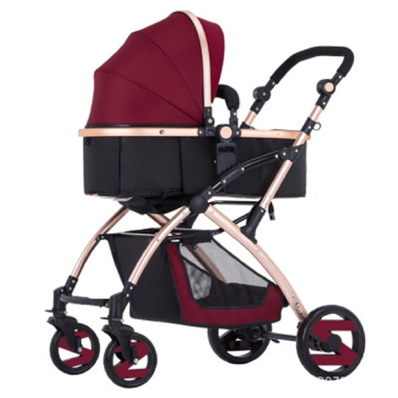 JIJI V58 High-Grade Baby Stroller / Pram (Free Installation) - High Quality foldable Stroller Portable Baby Carriage Stroller (Free Delivery) (SG) Singapore