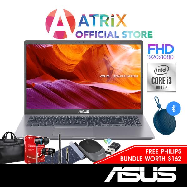 【Free Bluetooth Speaker】ASUS Vivobook 15 X515JA | 15.6inch FHD 1920*1080 | Intel Core i3-1005G1 | Win10 Home | 8GB DDR4 RAM | 256GB PCIe SSD | 1 Yr ASUS Warranty | X515JA-EJ1051T