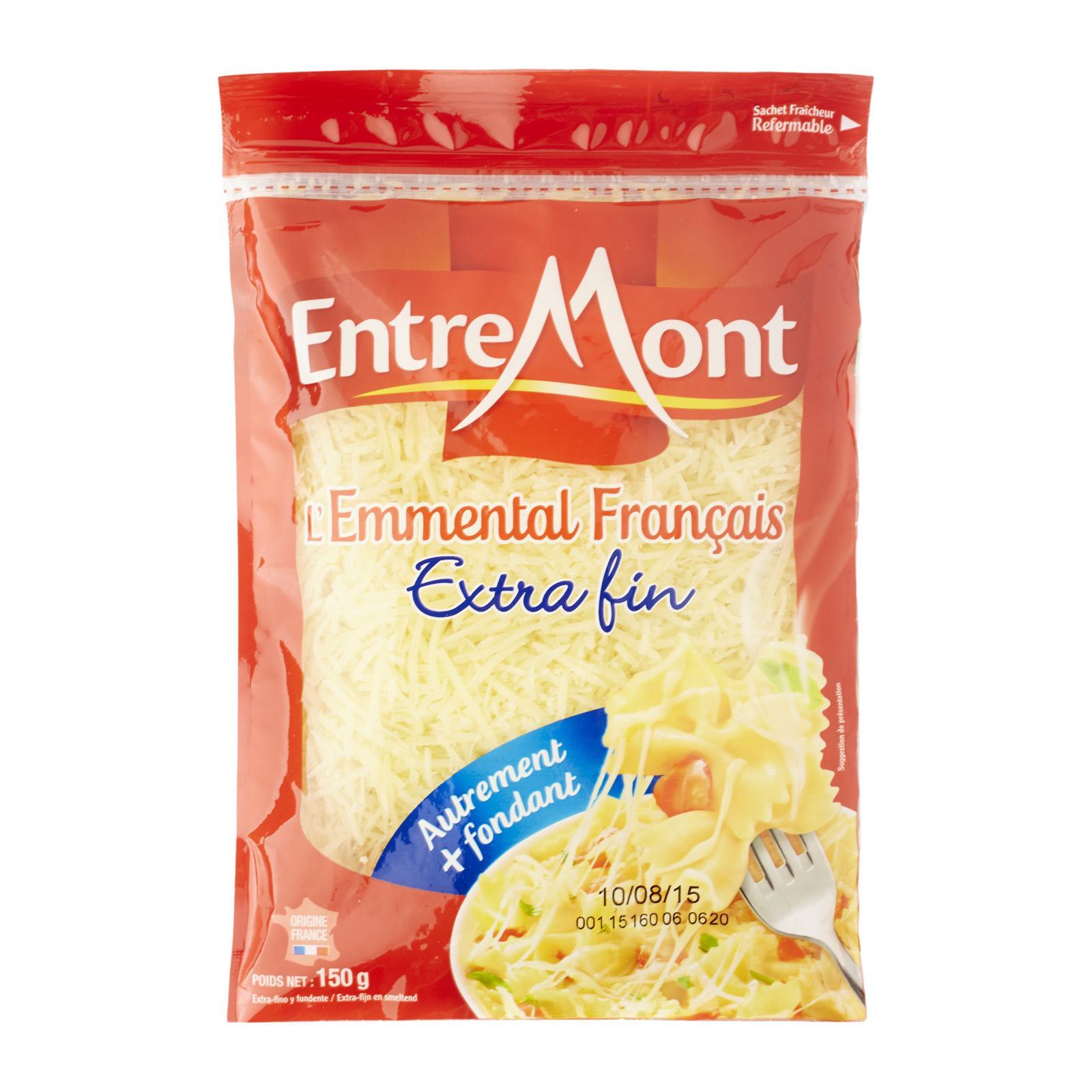 Entremont Emmental Shredded Cheese