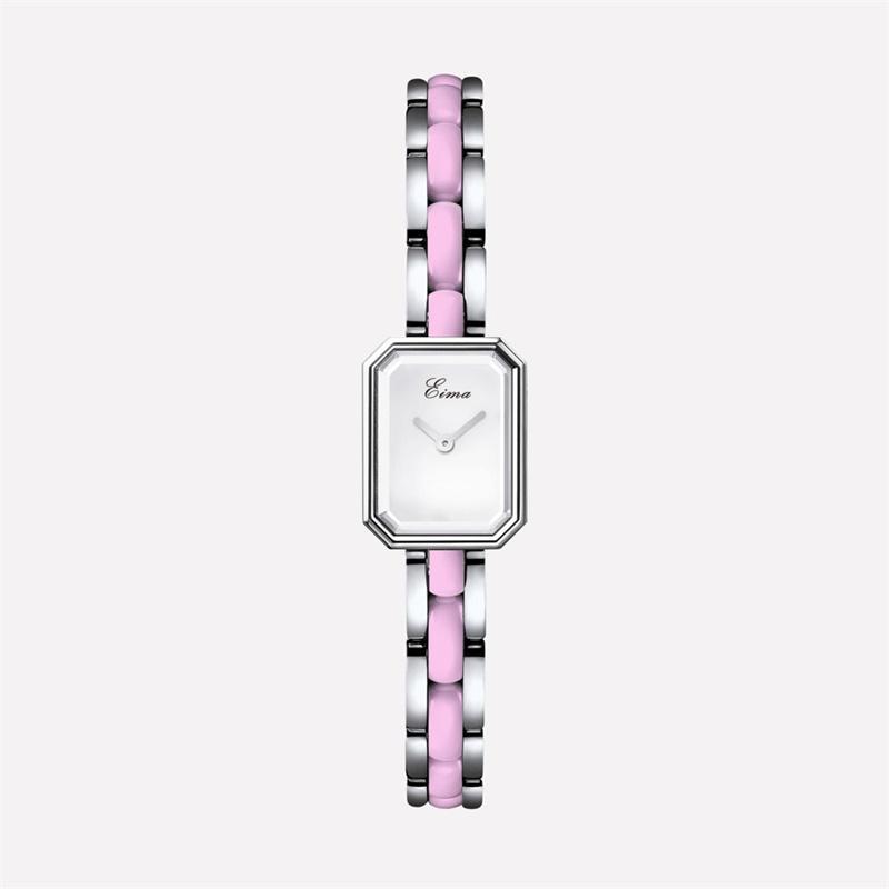 Eima Fashion Diamond Set Ladies Watch Ceramic Watch Waterproof Simple Clean Steel Business Watch Schoolgirl Malaysia