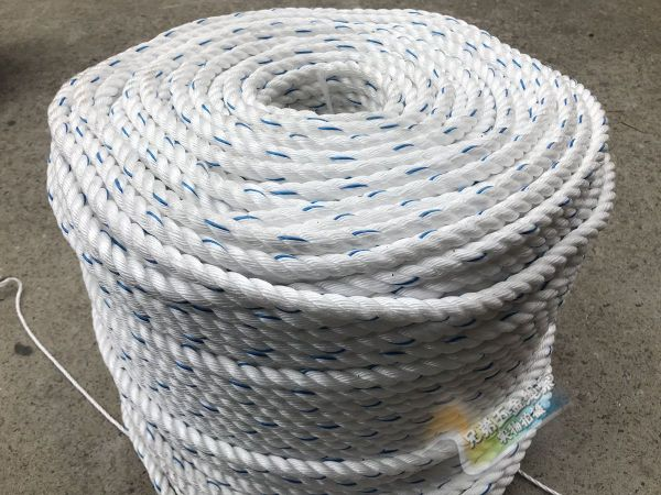 Large Truck Brake Rope 14mm Bundling Rope of Cargoes Wear-Resistant Nylon Flax Rope 16/18 Dung Cleaner bian si sheng