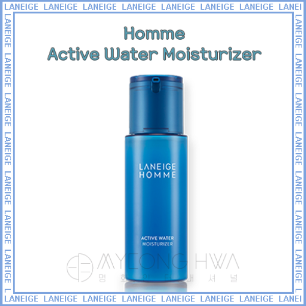 Buy [ LANEIGE ] Homme Active Water Moisturizer 125ml Singapore