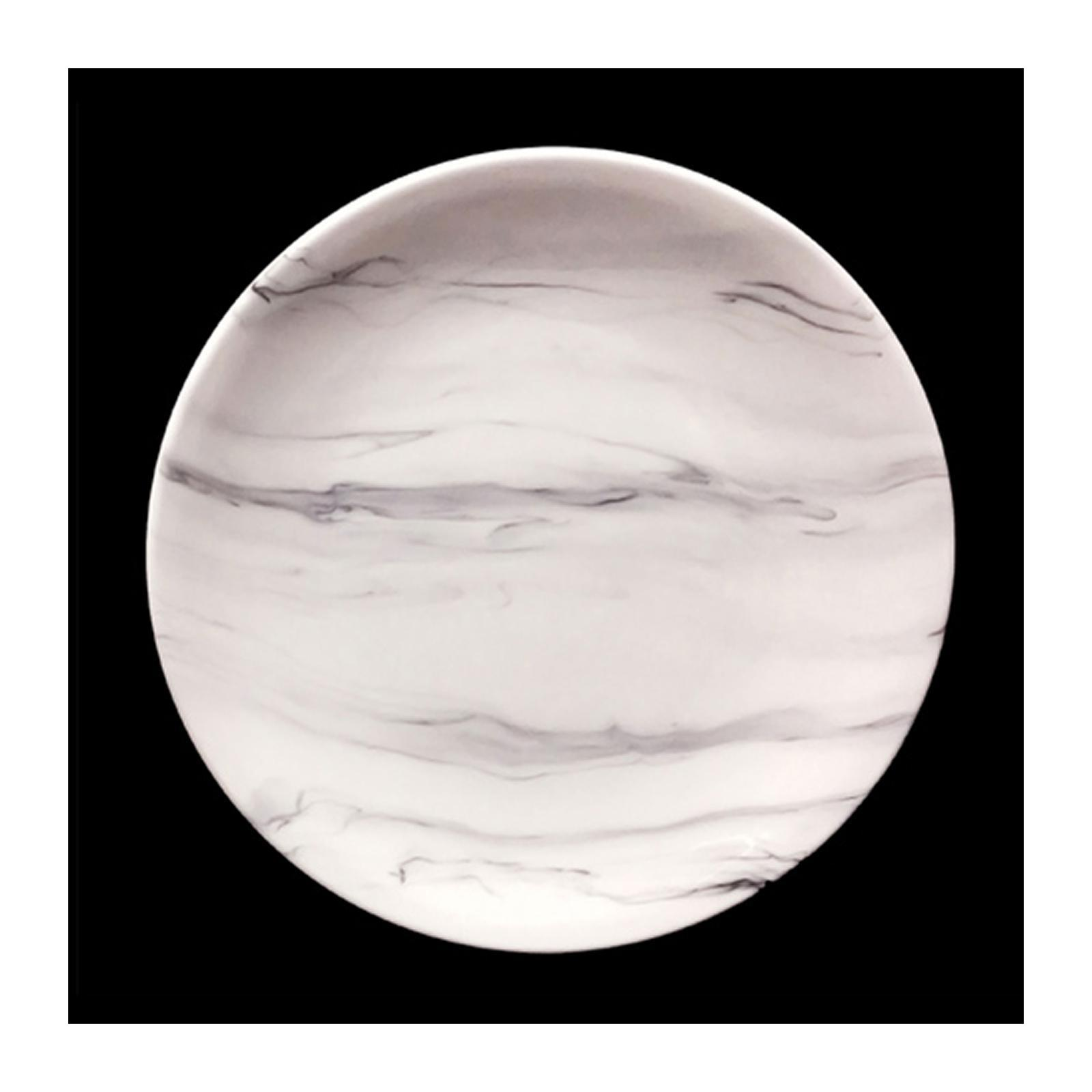 Cerabon By Petye Carrara Porcelain Round Dinner Plate 27.5 CM - By ToTT