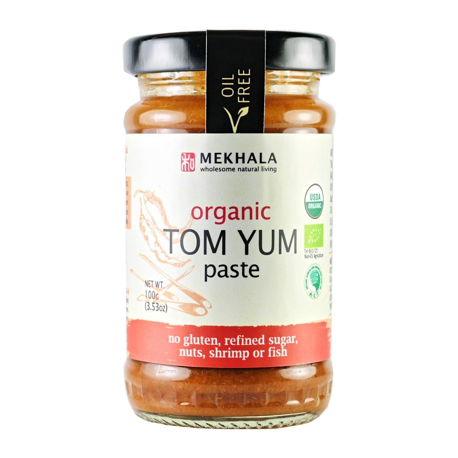 Mekhala Organic (All-Natural) Tom Yum Paste