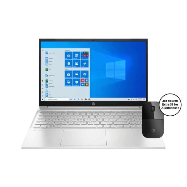 HP Pavilion Laptop 15-eh1041AU / AMD Ryzen 5 5500U / 16GB RAM / 1TB SSD / 15.6 FHD / Win 10 /2 Years Onsite Warranty
